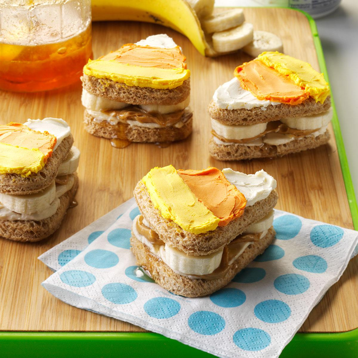 cute halloween sandwiches recipe taste of home