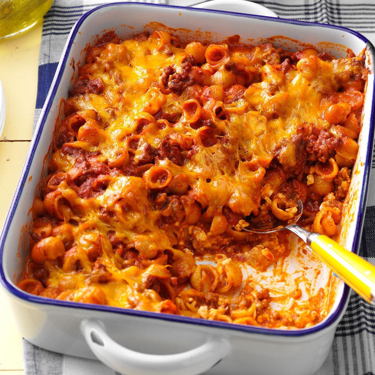 taste of home sloppy joe mac and cheese