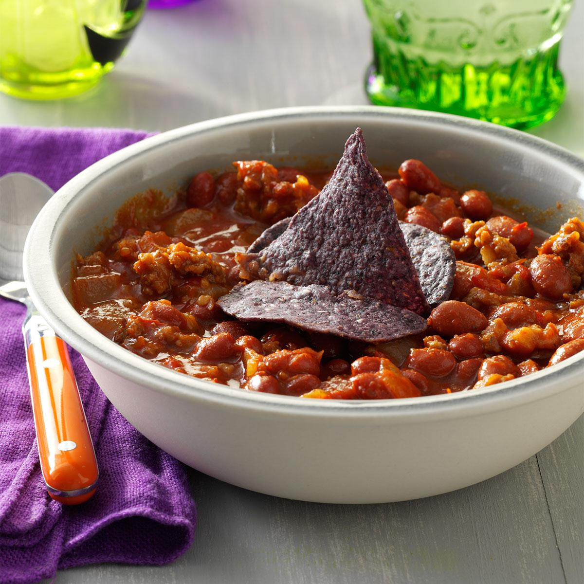 Bewitched chili recipe taste of home forumfinder Choice Image