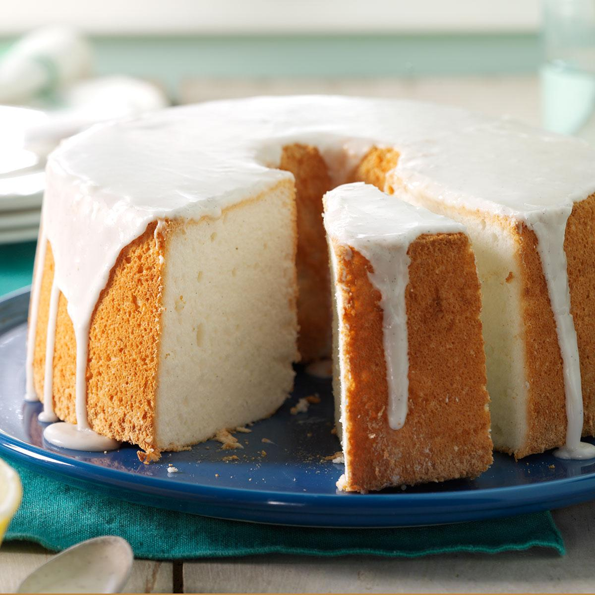 Vanilla bean angel food cake taste of home forumfinder Images