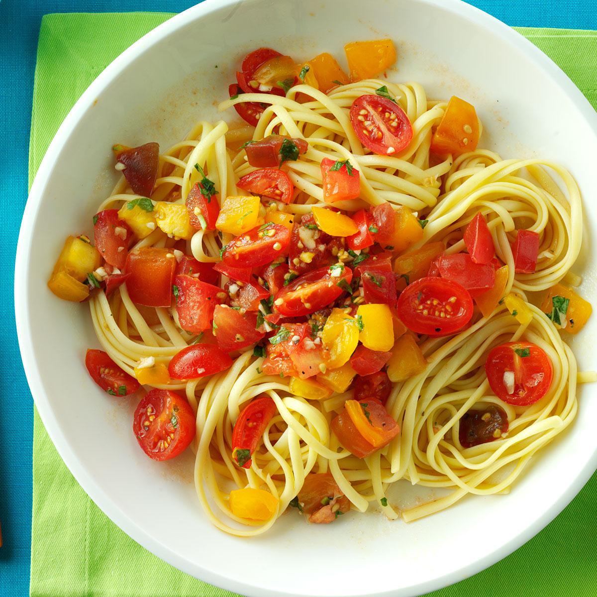 No Cook Fresh Tomato Sauce Recipe Taste Of Home