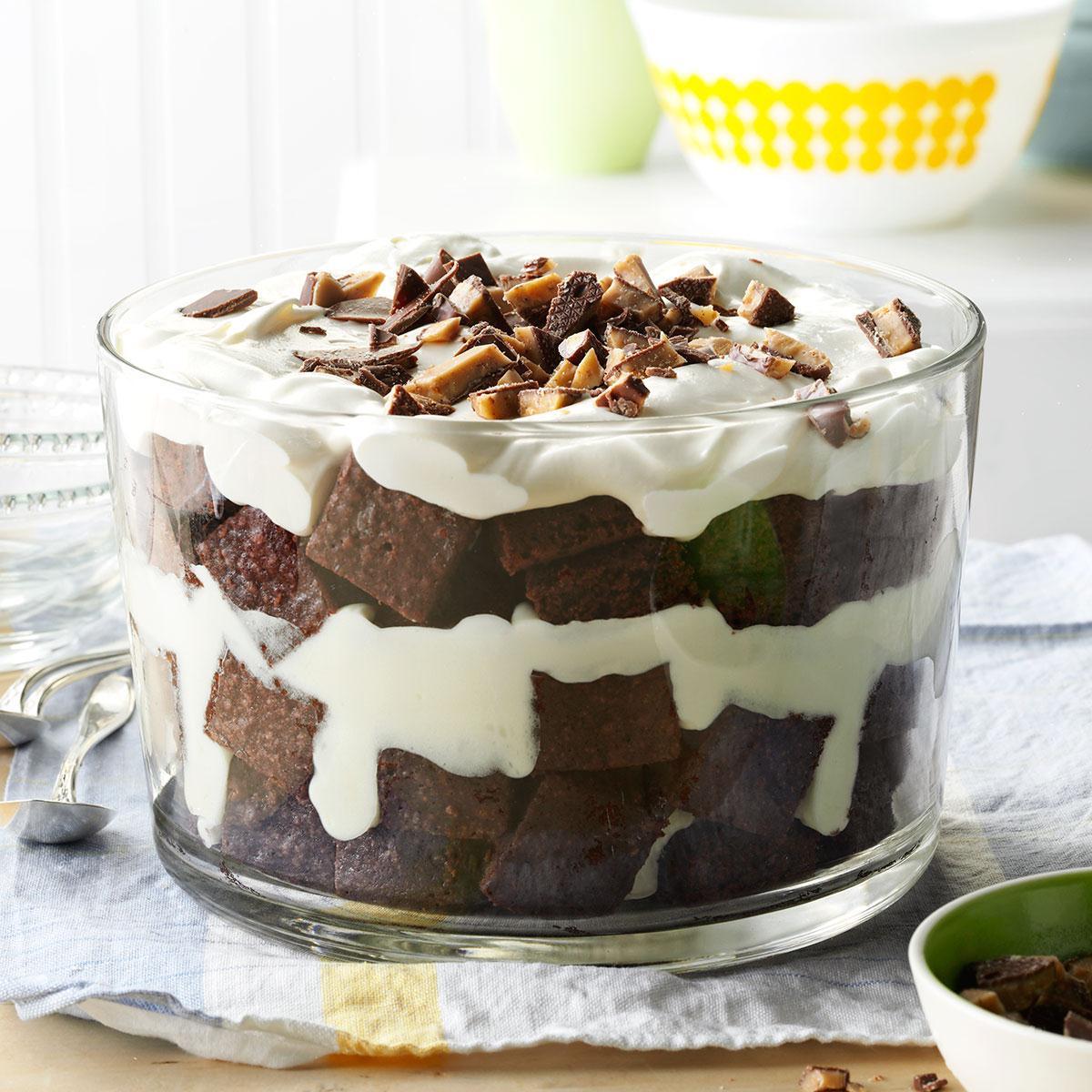 Brownie Mocha Trifle Recipe: Trifle Recipes