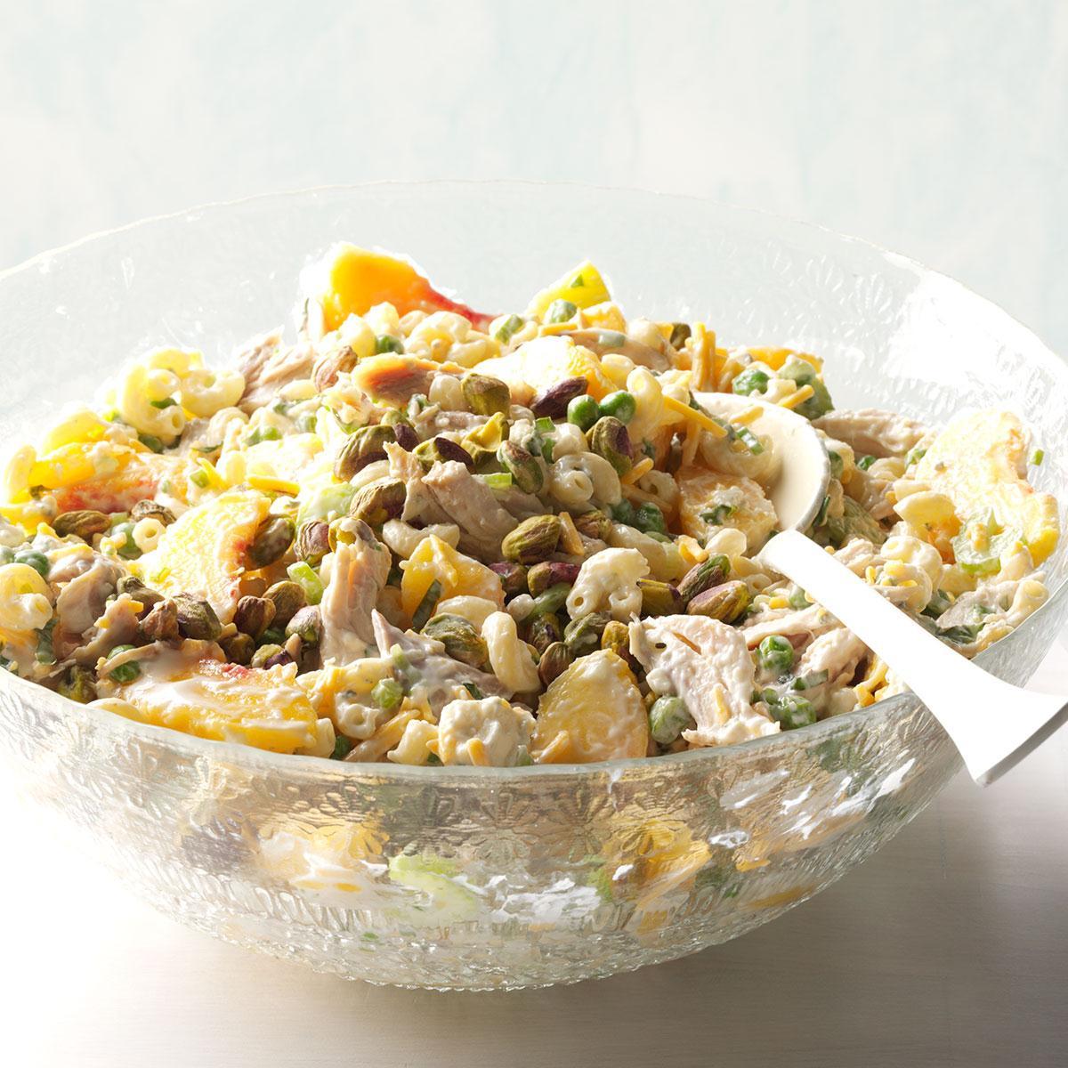 Summer Chicken Macaroni Salad Recipe Taste Of Home