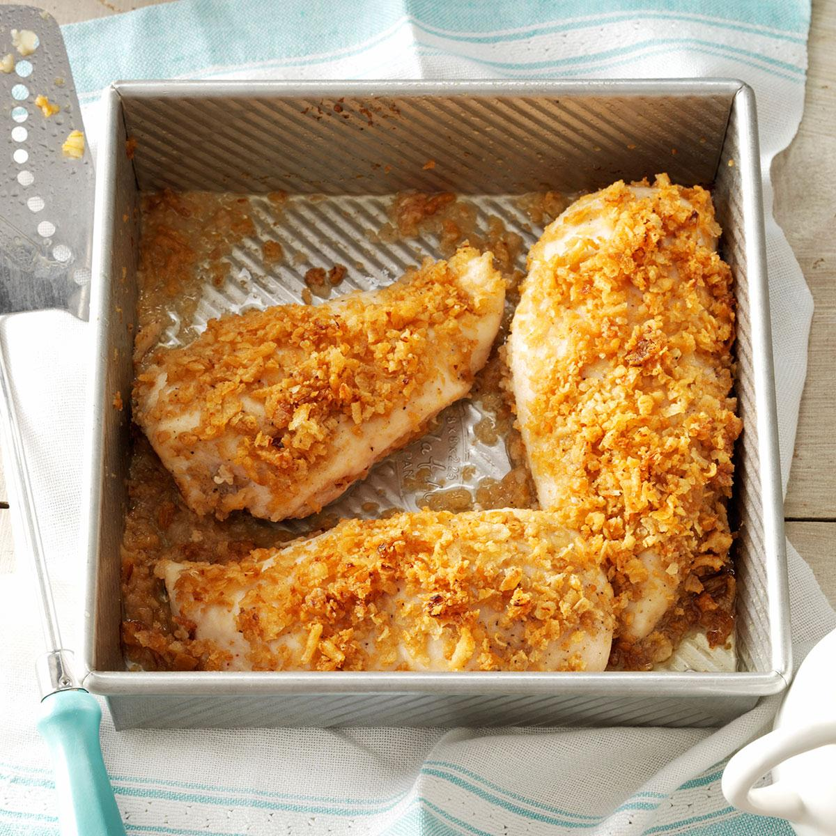 Crispy Onion Chicken Recipe Taste Of Home