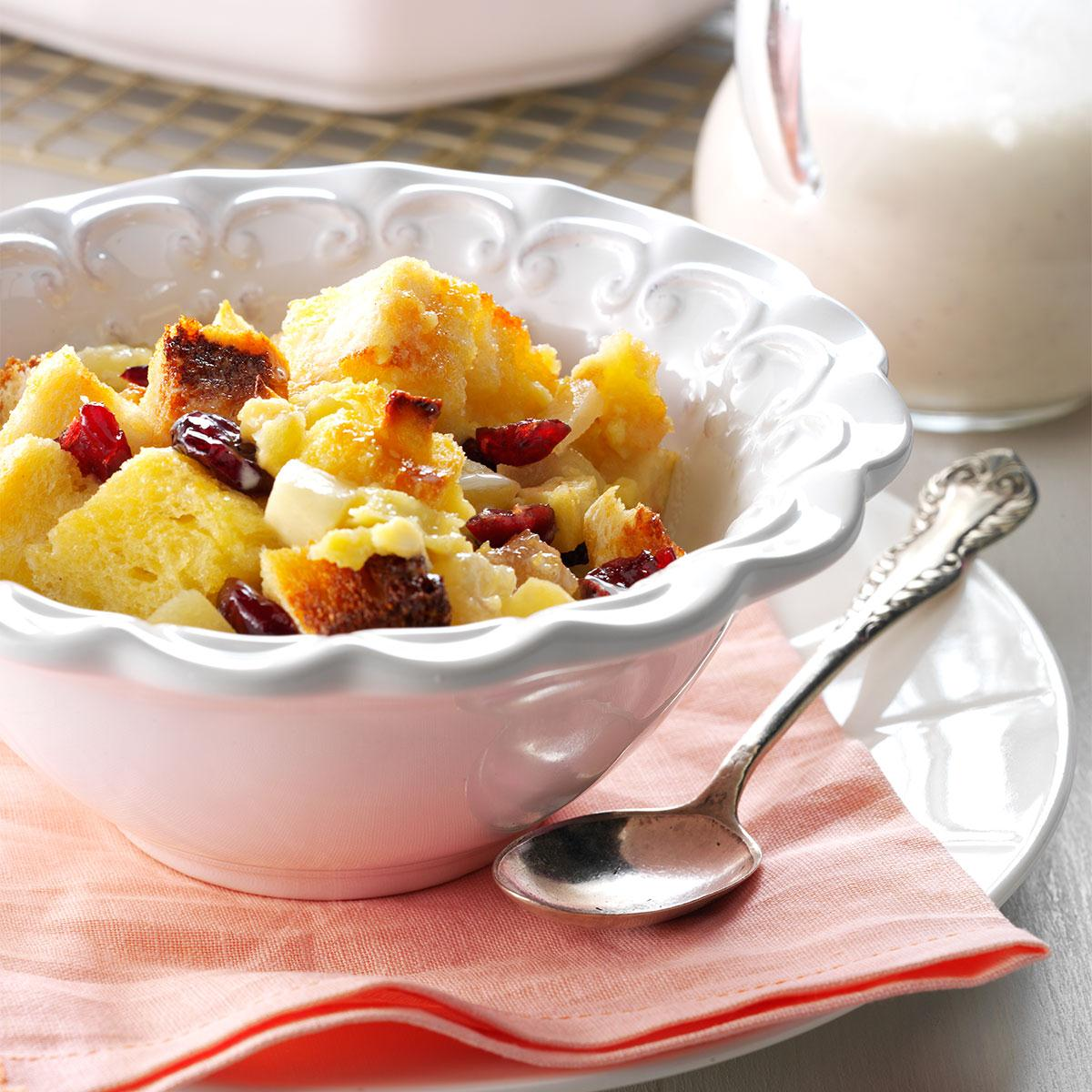 Christmas bread pudding recipe taste of home forumfinder Images