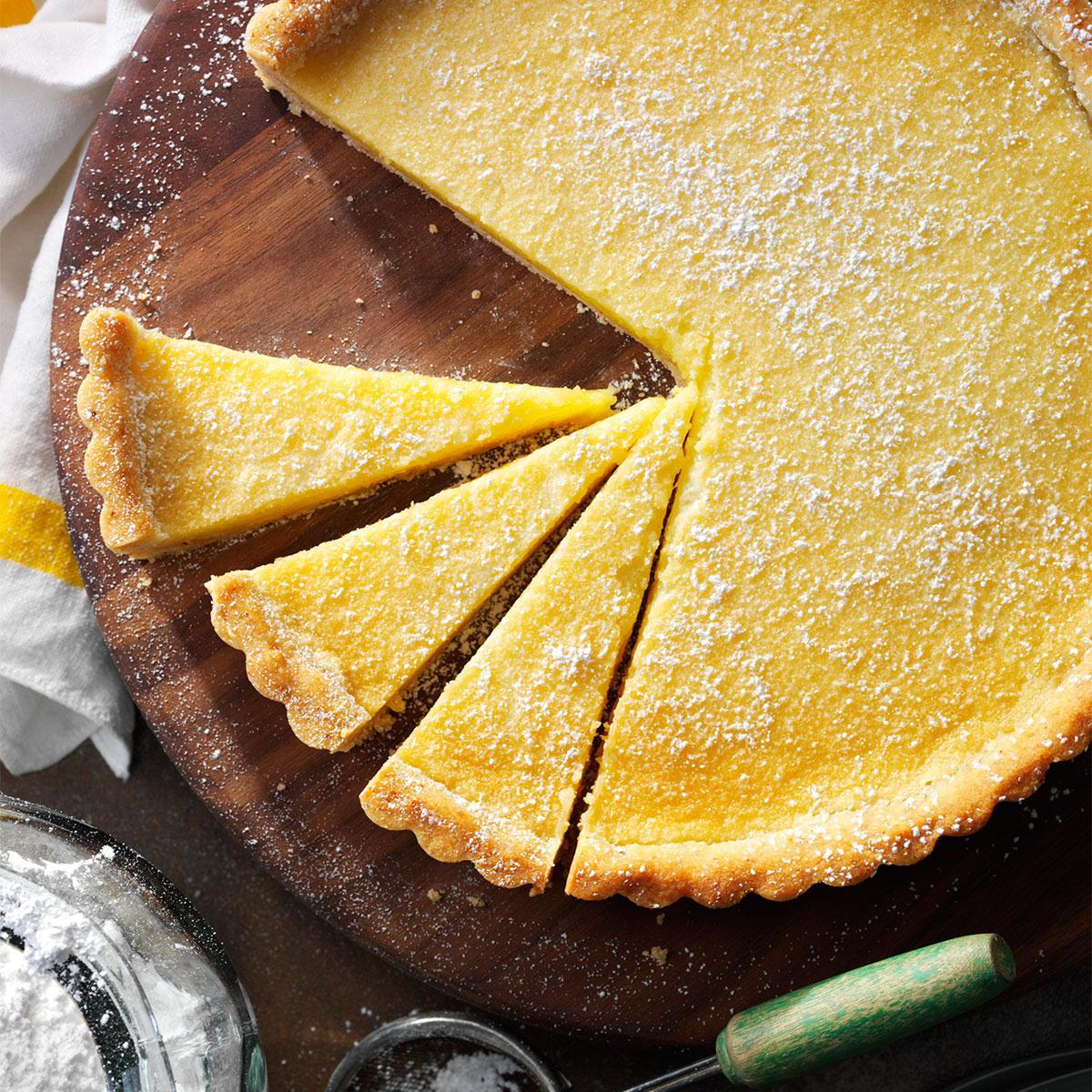 Shortbread Lemon Tart Recipe Taste Of Home