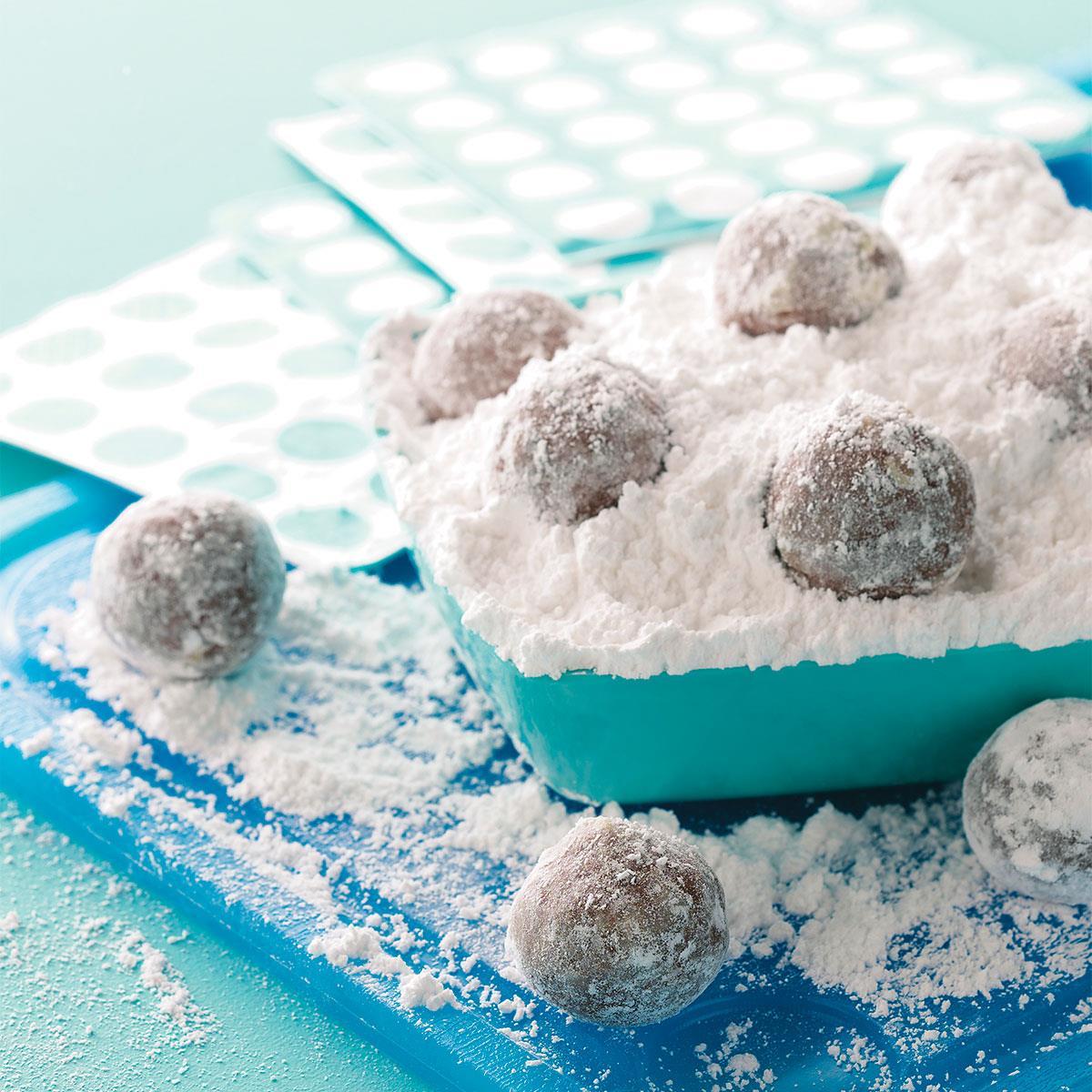 No-Bake Cookie Balls Recipe | Taste of Home