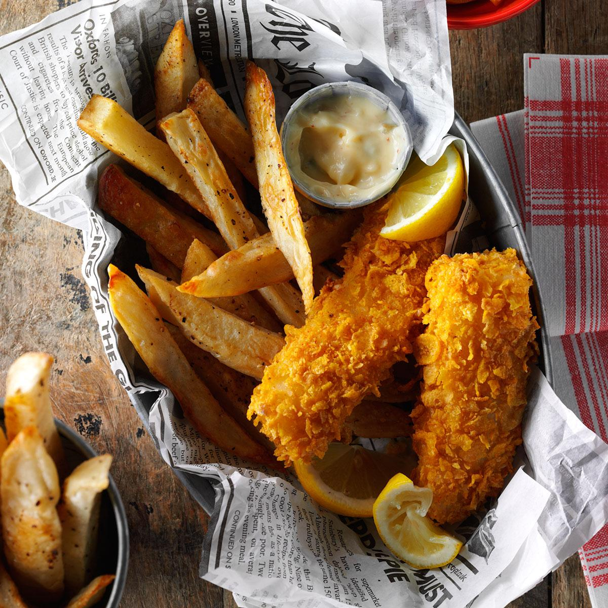 Fish And Fries Recipe Taste Of Home