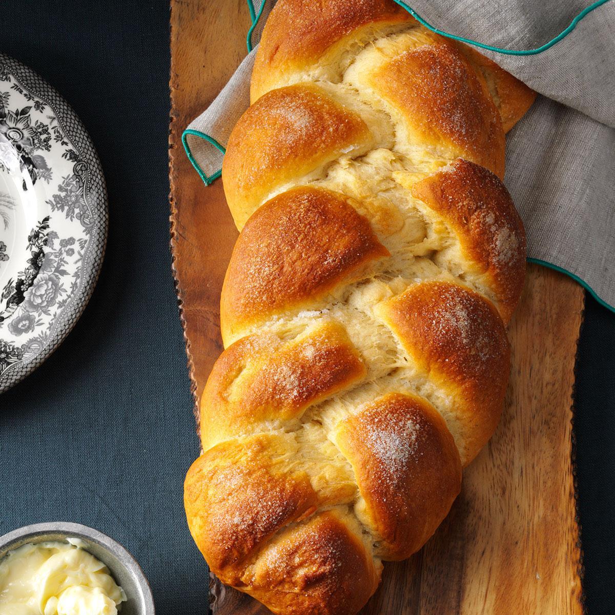 Cardamom Braid Bread Recipe | Taste of Home