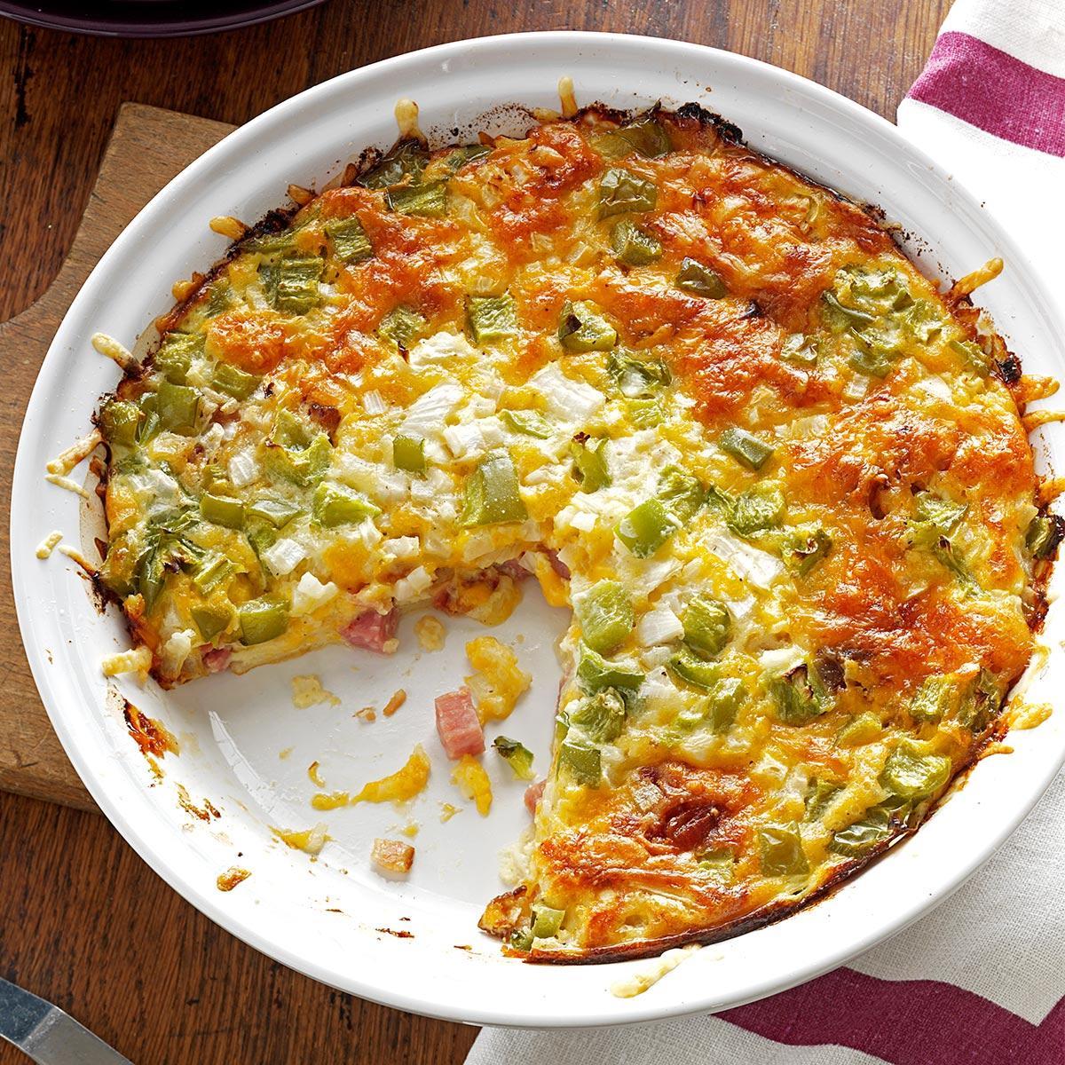 Ham N Cheese Pie Recipe Taste Of Home