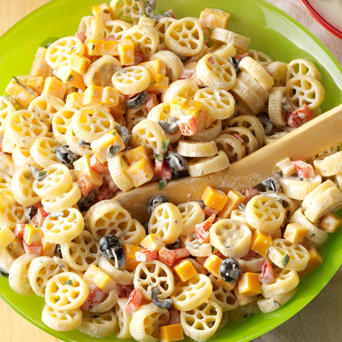 Wheely Good Pasta Salad Recipe Taste Of Home