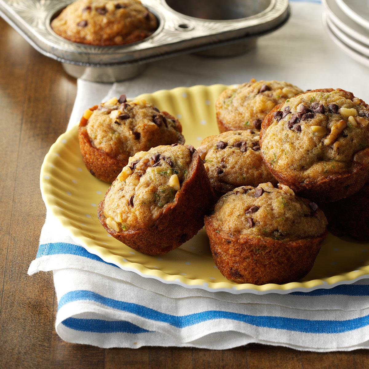 Chocolate chip muffins recipe simple