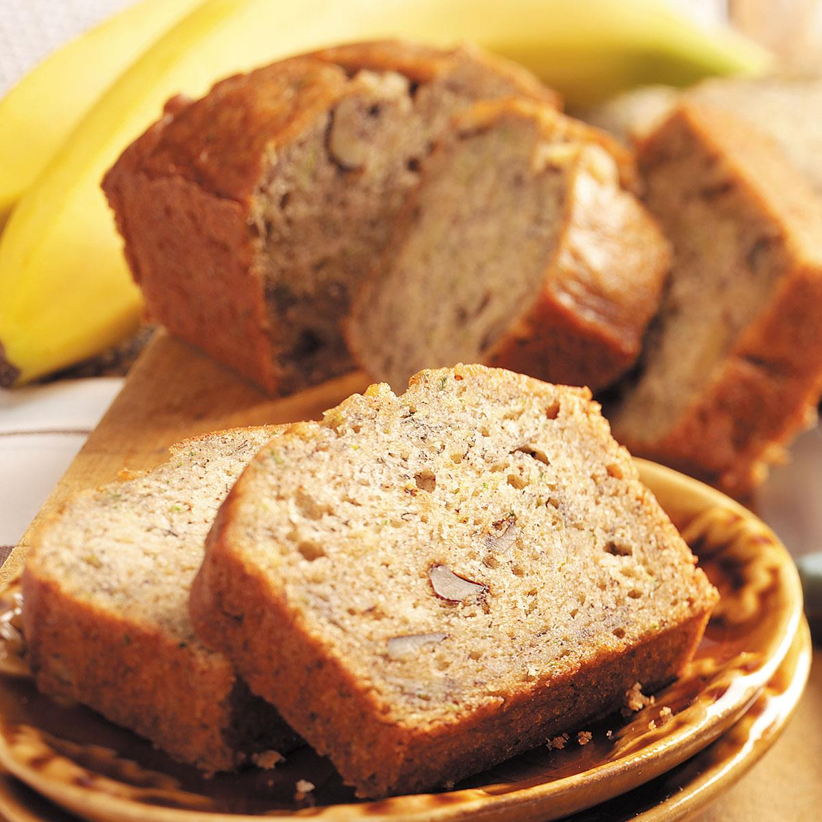 Zucchini banana bread recipe taste of home forumfinder Images