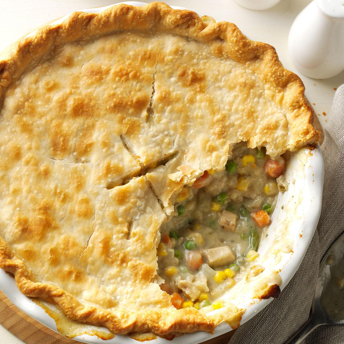 Homemade Chicken Potpie Recipe Taste Of Home