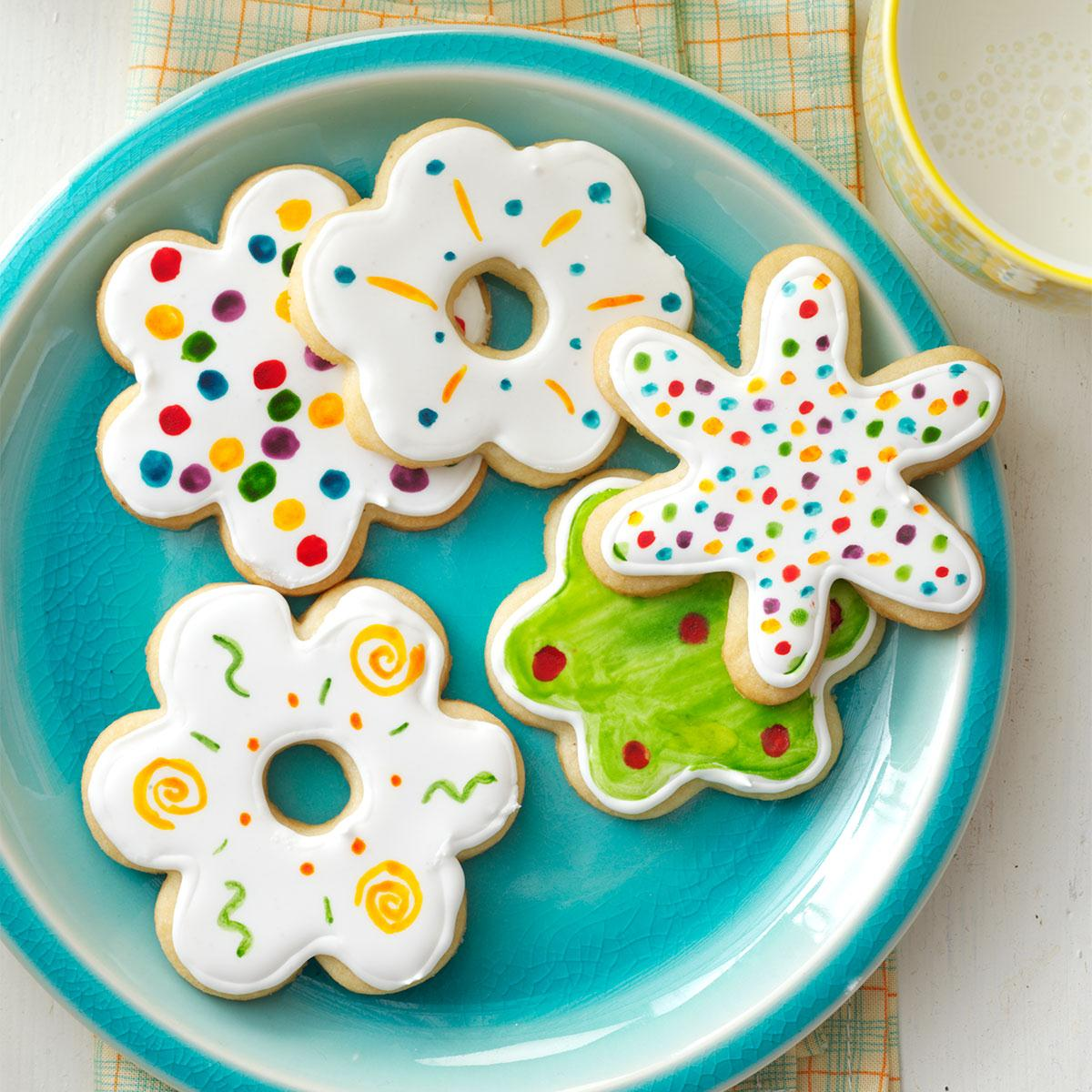 best ever sugar cookies recipe taste of home - Decorating Sugar Cookies For Christmas Pictures