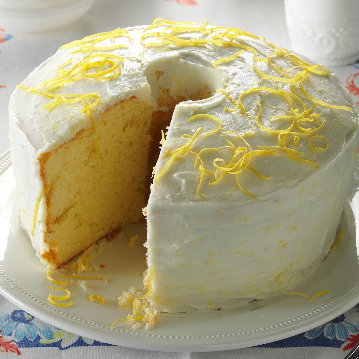 lemon chiffon cake recipe taste of home rh tasteofhome com