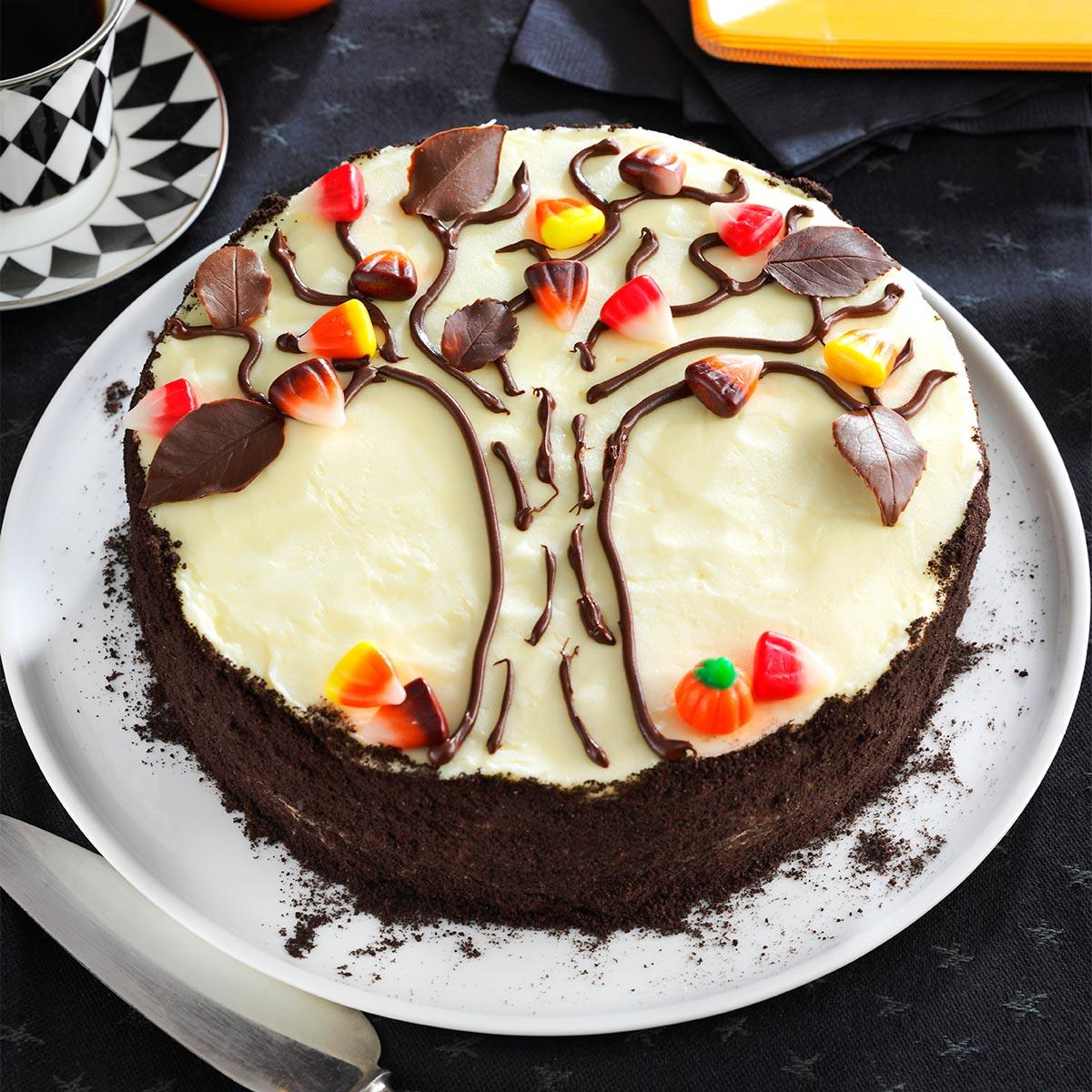 & Autumn Tree Cake Recipe | Taste of Home
