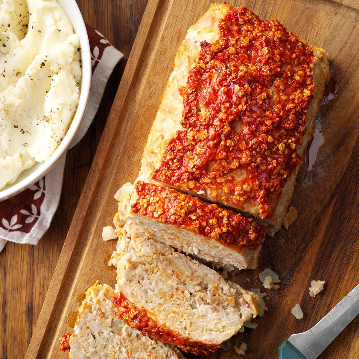 Turkey meat loaf recipe taste of home forumfinder Choice Image