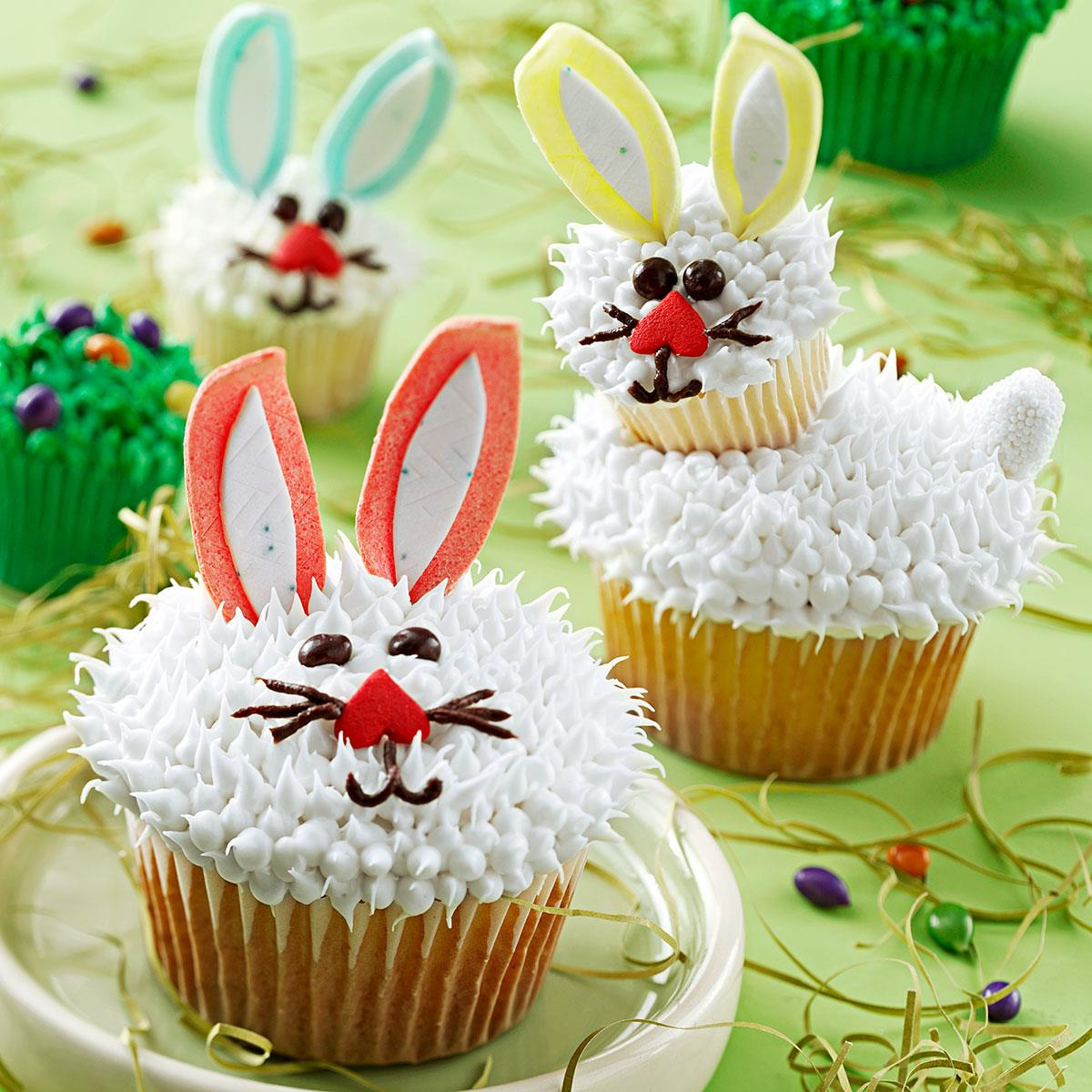 Easter Bunny Cupcakes Recipe Taste Of Home