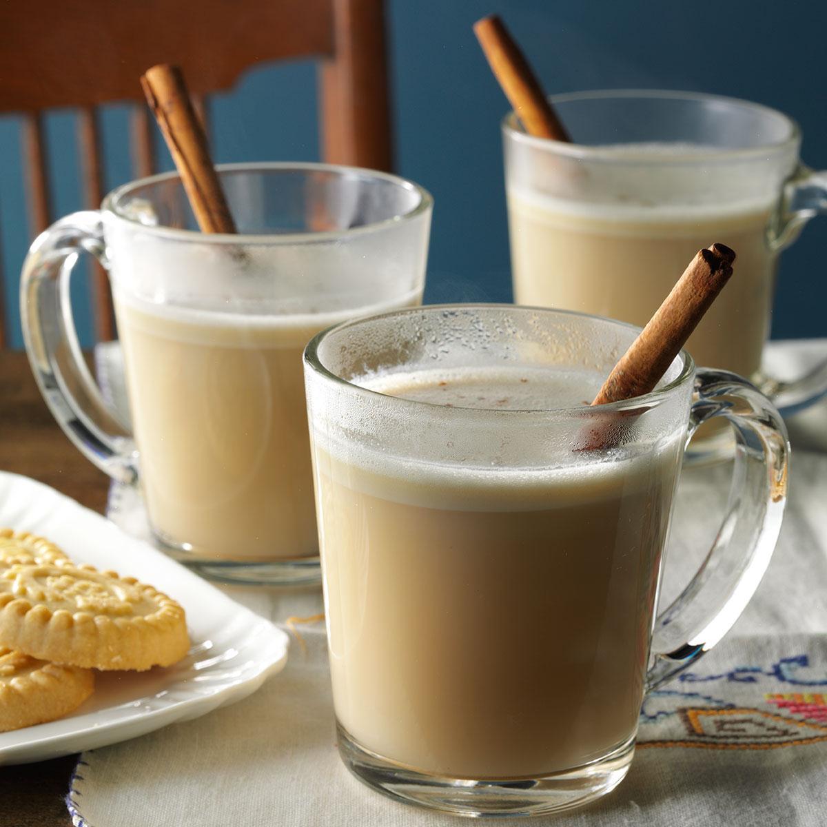 Hot Almond N Cream Drink Recipe Taste Of Home