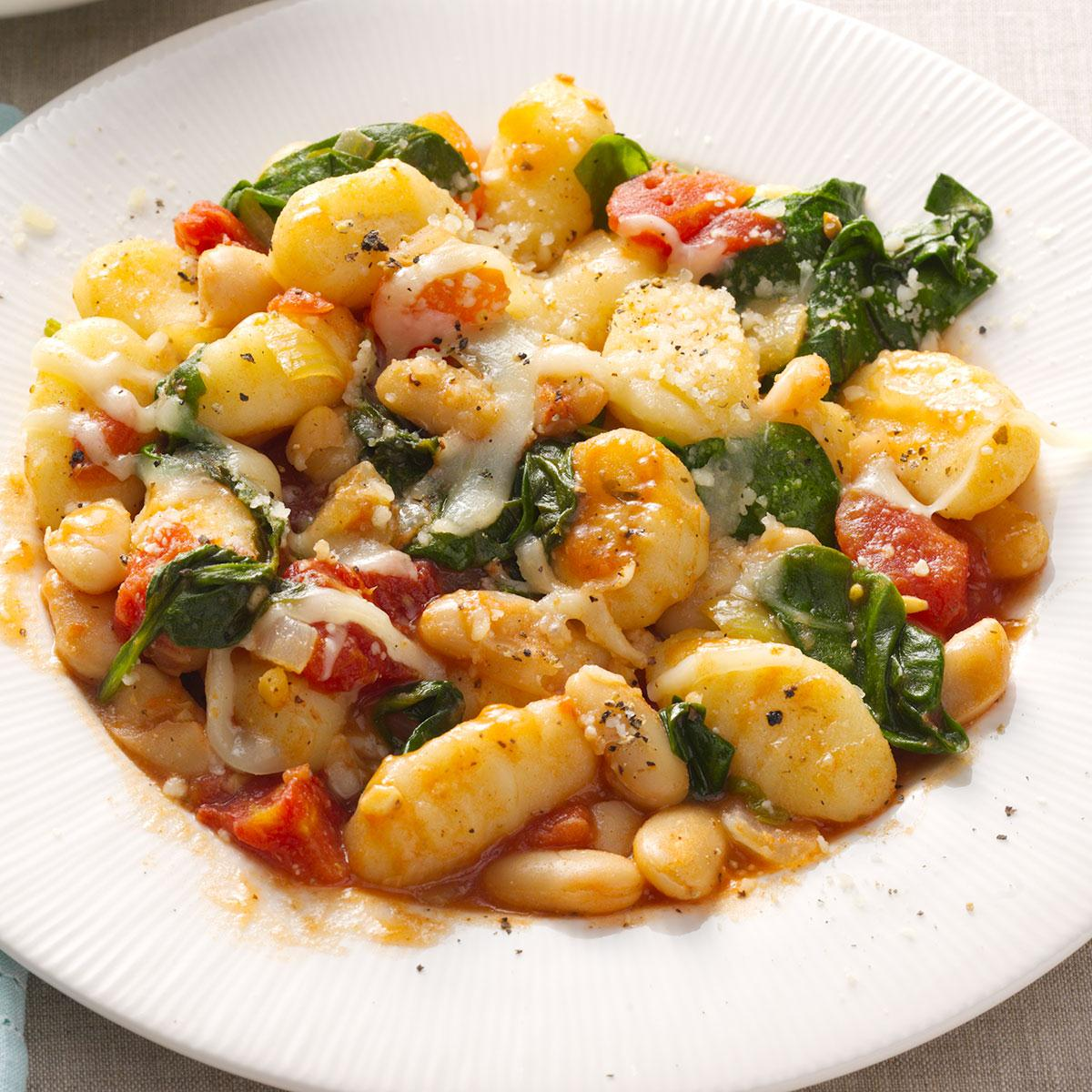 Gnocchi with white beans recipe taste of home forumfinder Images