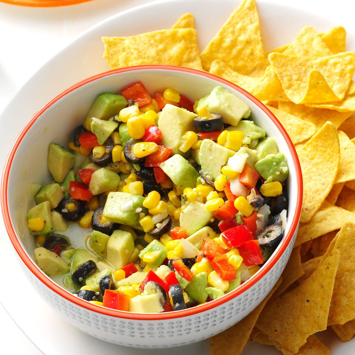 Avocado salsa recipe taste of home forumfinder Image collections
