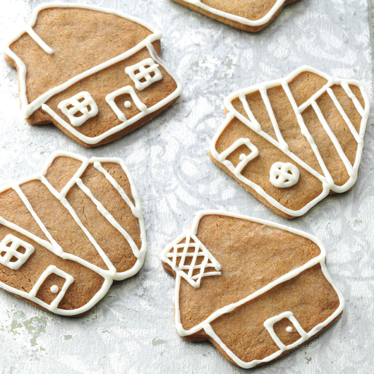 Gingerbread Cookies With Buttercream Icing Recipe Taste Of Home