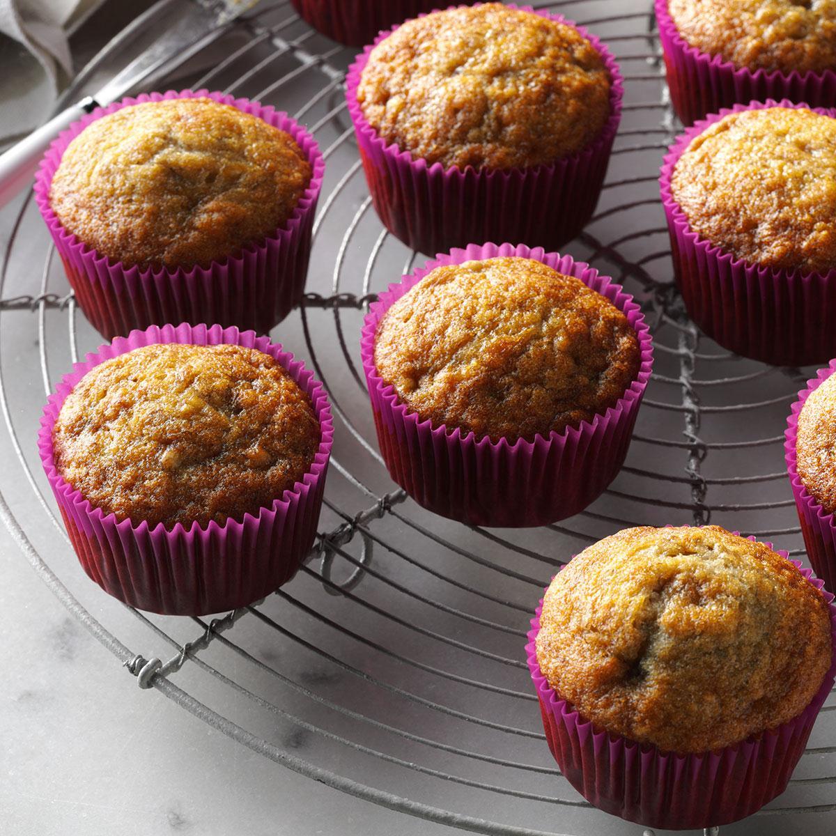 Basic Banana Muffins Recipe Taste Of Home