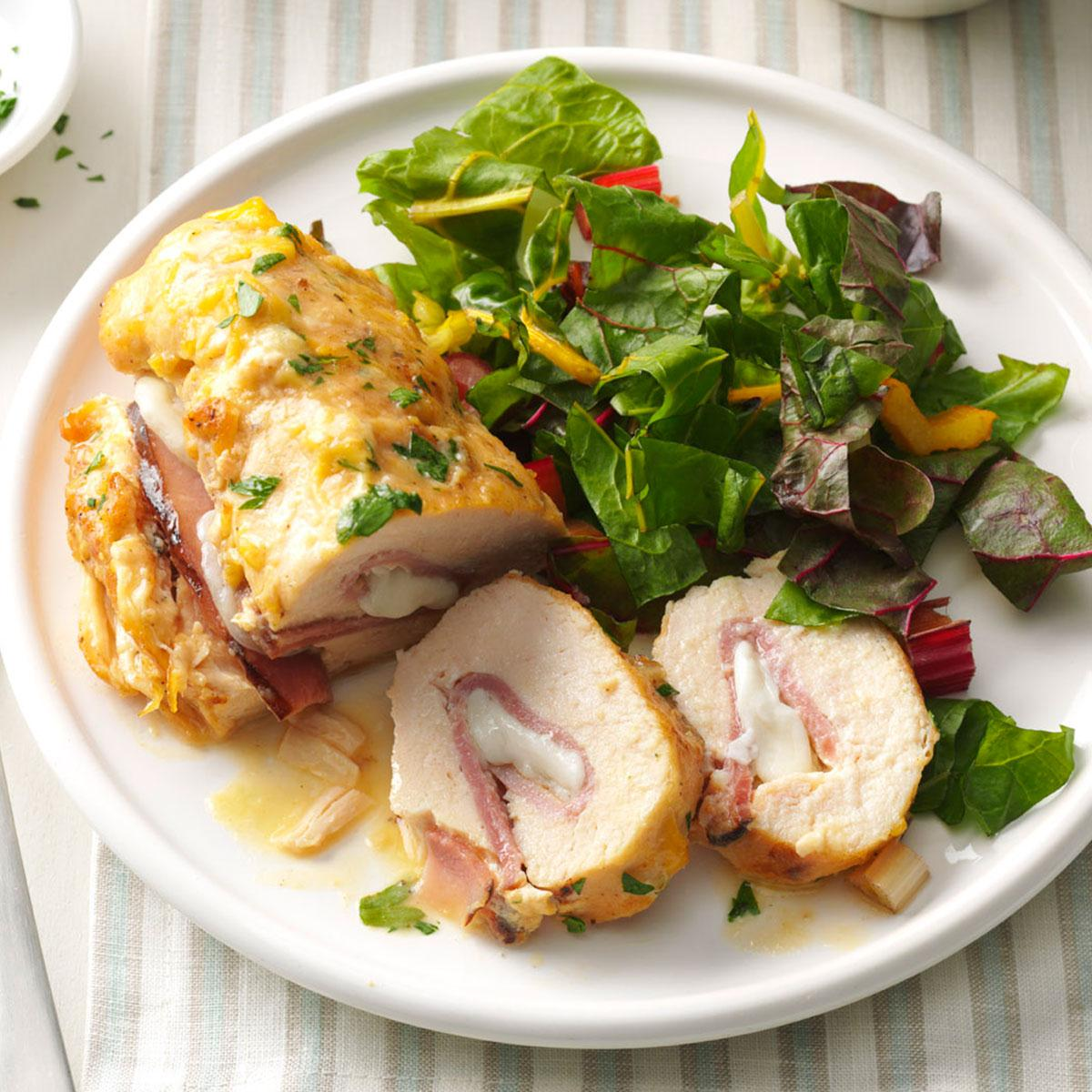 Stuffed chicken rolls taste of home forumfinder Image collections