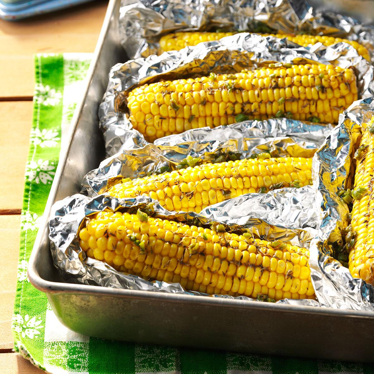 Spicy Corn on the Cob images