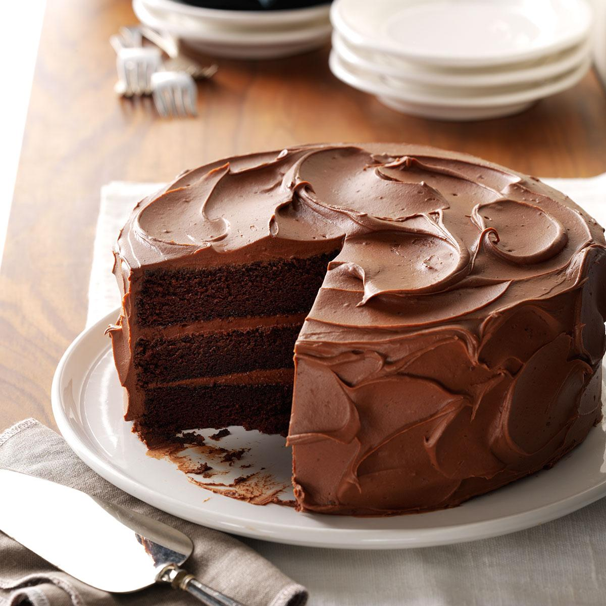 Sandys Chocolate Cake Recipe