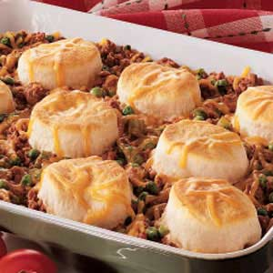 Ground beef n biscuits recipe taste of home forumfinder Images