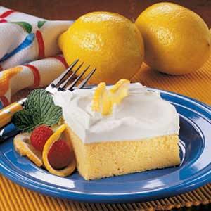 light lemon cake recipe taste of home