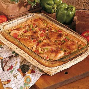 Spanish rice and chicken recipe taste of home forumfinder Image collections