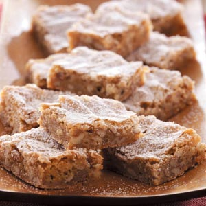 caramel pecan bars recipe taste of home