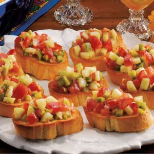 Veggie french bread taste of home forumfinder Images