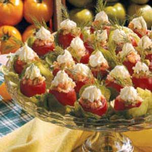 Smoked salmon cherry tomatoes recipe taste of home forumfinder Choice Image