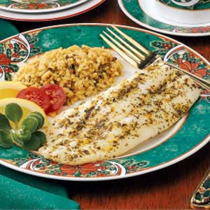 Fish Fillets With Citrus Herb Butter Recipe Taste Of Home