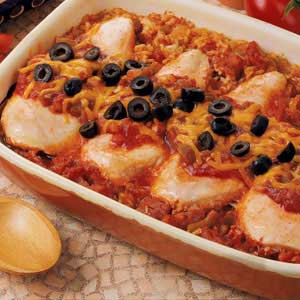 Spanish chicken taste of home spanish chicken forumfinder Choice Image