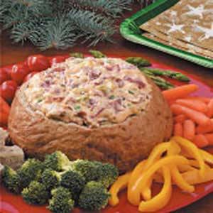 recipe: dried beef dip in bread bowl [16]
