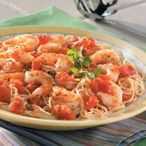 Italian shrimp and pasta recipe taste of home forumfinder Choice Image
