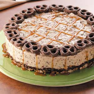 Ice cream pretzel cake recipe taste of home ccuart Images
