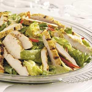 Grilled thai chicken salad recipe taste of home forumfinder Choice Image