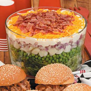 7 10 split layered salad recipe taste of home