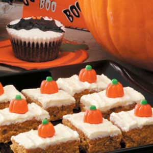 Peter peter pumpkin bars taste of home aloadofball Image collections
