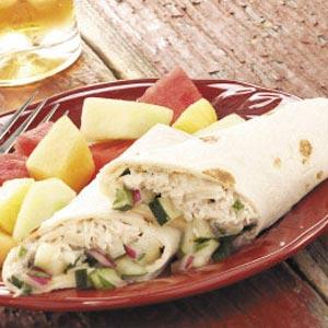Tuna salad wraps recipe taste of home forumfinder Images