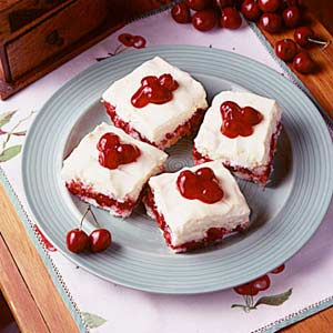 Cherry angel delight recipe taste of home forumfinder Image collections