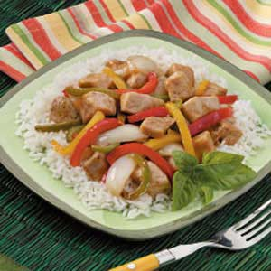 Chicken Pepper Stir Fry Recipe Taste Of Home