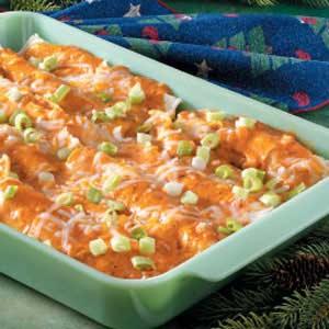 Makeover Chicken Enchiladas Recipe Taste Of Home