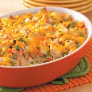 Chicken Vegetable Casserole Recipe Taste Of Home
